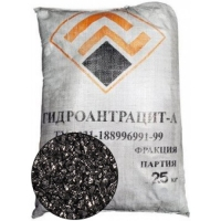 Фильтрующий материал Гидроантрацит-А 0,8-2,0 мм (25кг)