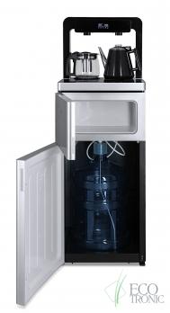 Кулер с чайным столиком Тиабар Ecotronic TB6-LE silver