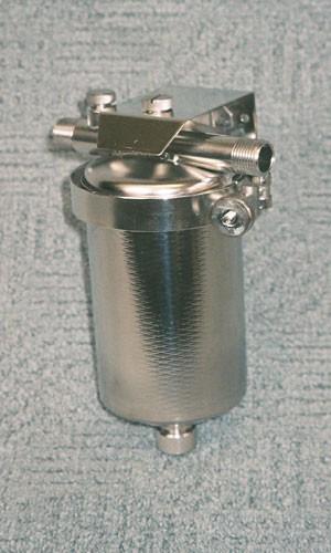 Стальной магистральный фильтр АС-90/5''x1/2'' (SlimLine)