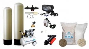 Обезжелезивание воды с аэрацией, OTS, Runxin, МЖФ ( от 1 до 2,2 куб\час)