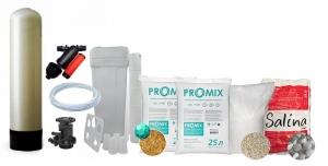 """Комплект обезжелезивания и умягчения ProMix """"C"""" с ручным клапаном TMF-64B 10x54 (1,0 куб\час)"""