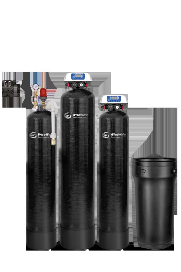 Комплексная система очистки воды WiseWater VK2000 Clack EcoDisk (2-2.5 куб\час)