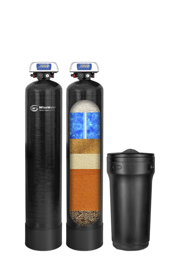 Комплексная система очистки воды WiseWater NKX2000 Clack EcoDisk (2-2.5 куб\час)