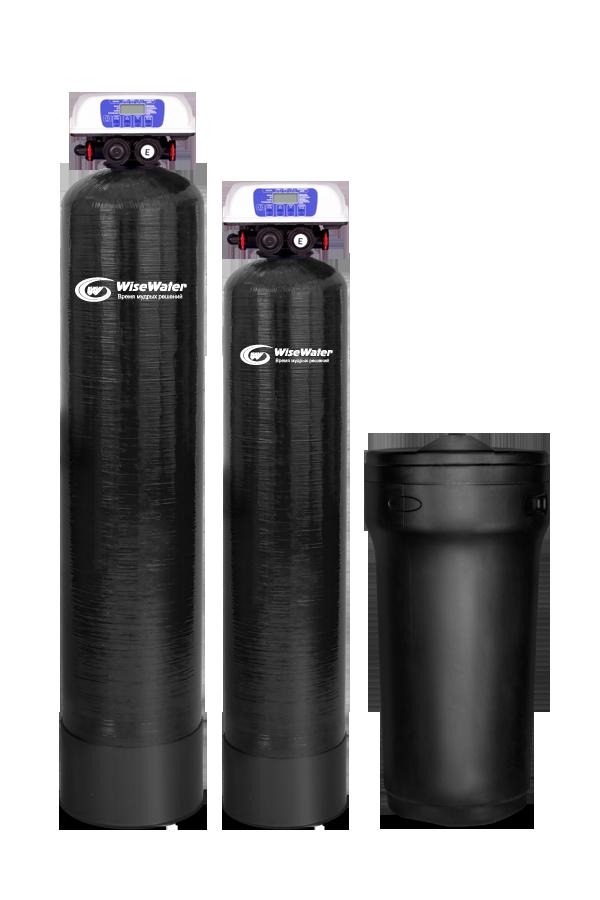 Комплексная система очистки воды WiseWater NK1500 Clack EcoDisk (1.5-2 куб\час)