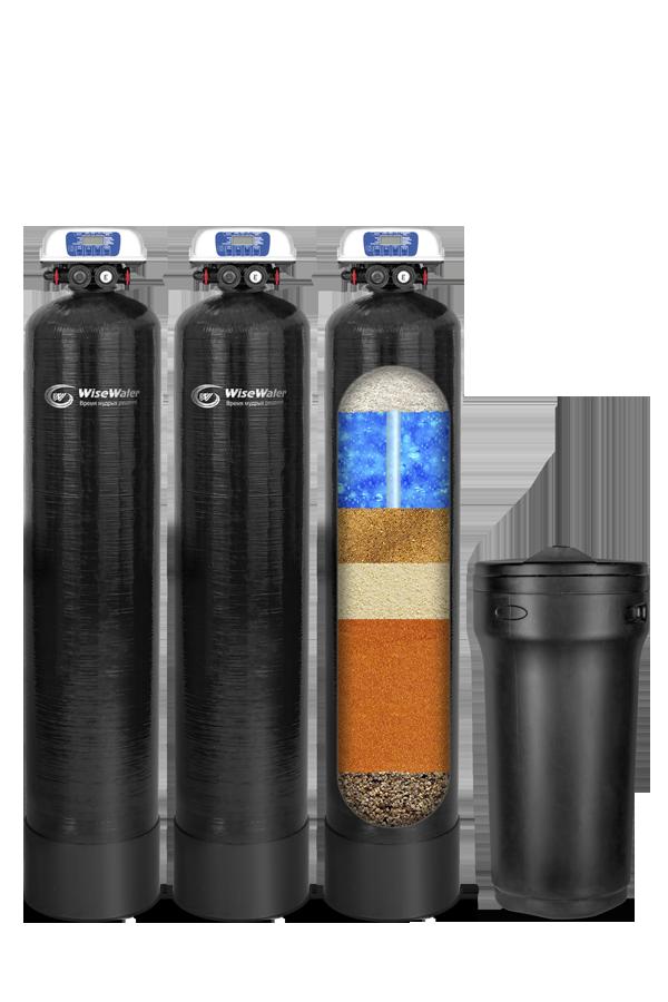 Комплексная система очистки воды WiseWater VKXO 1500 Clack EcoDisk (1.5-2 куб\час)