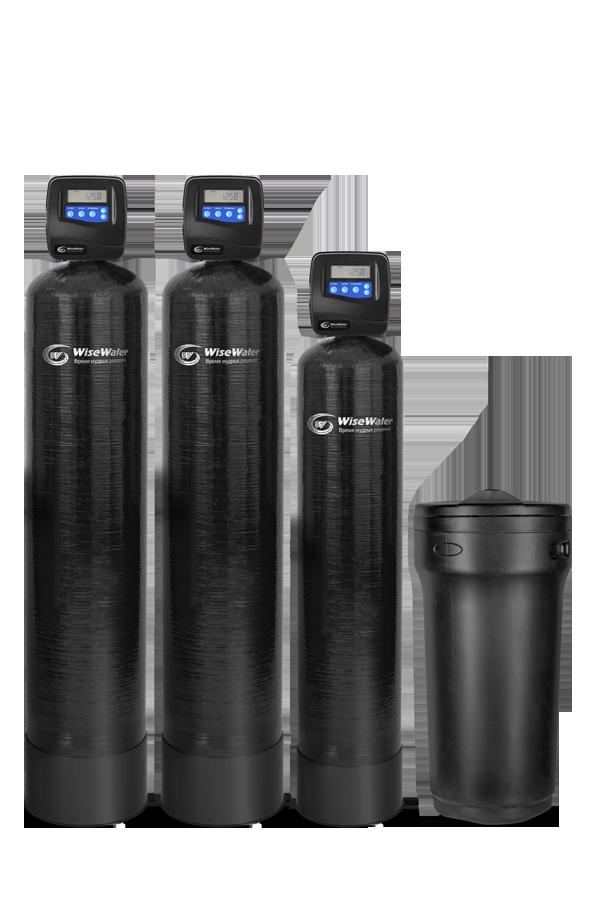 Комплексная система очистки воды WiseWater VKO2000 Clack RI (2-2.5 куб\час)