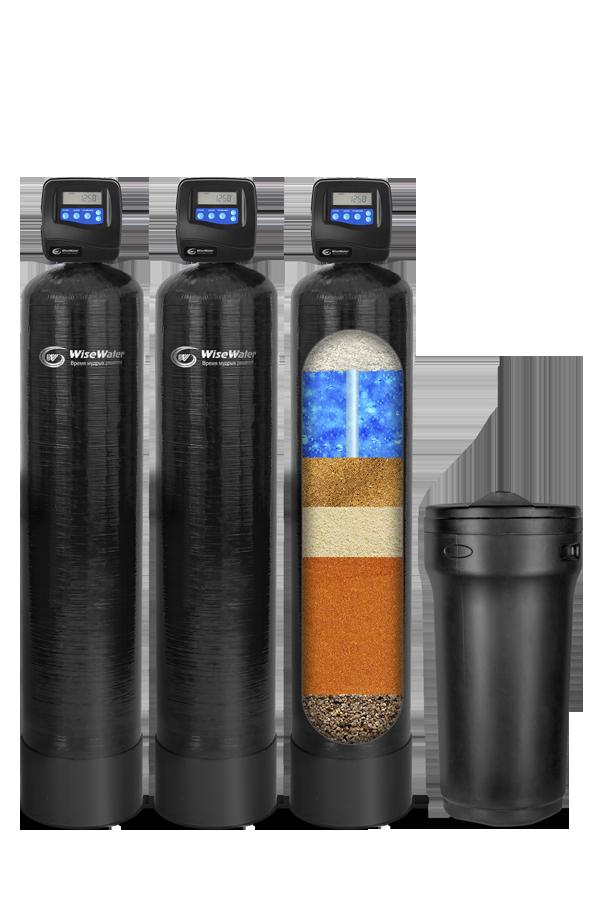 Комплексная система очистки воды WiseWater VKXO1500 Clack RI (1.5-2 куб\час)
