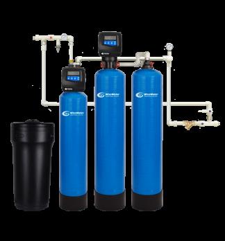 Комплексная система очистки воды WiseWater NK1000 Clack RIOD (1-1.5 куб\час)