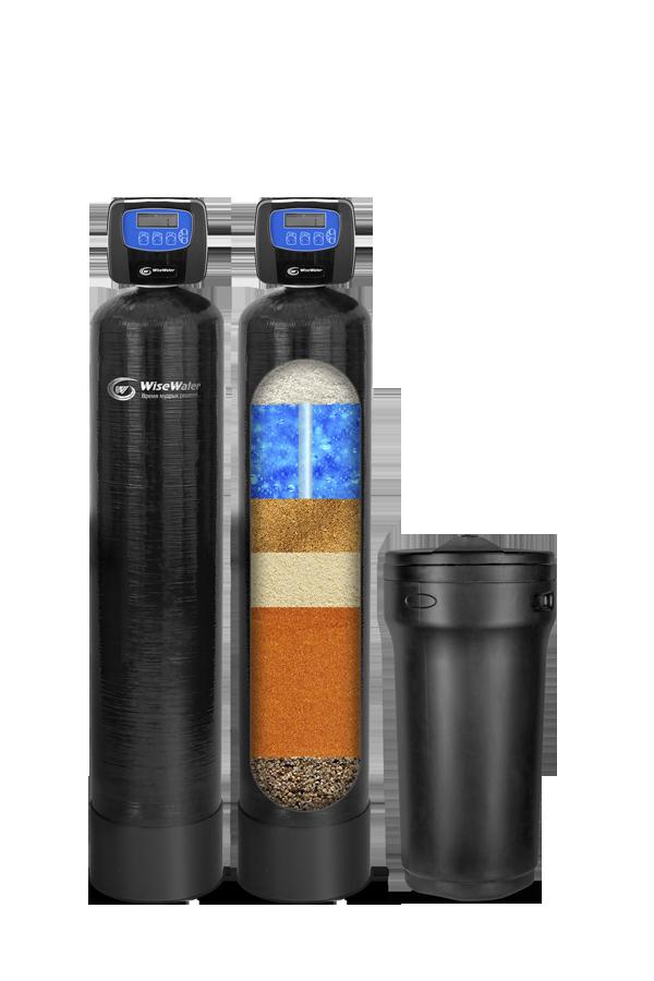 Комплексная система очистки воды  WiseWater NKX1500 Clack EW (1.5-2 куб\час)