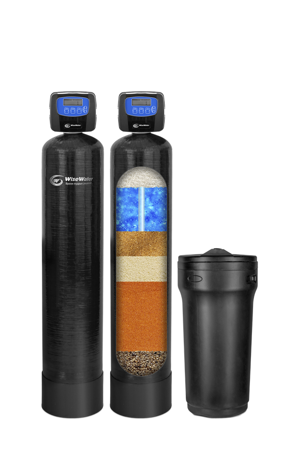 Комплексная система очистки воды WiseWater NKX2500 Clack EW (2,5-3 куб\час)