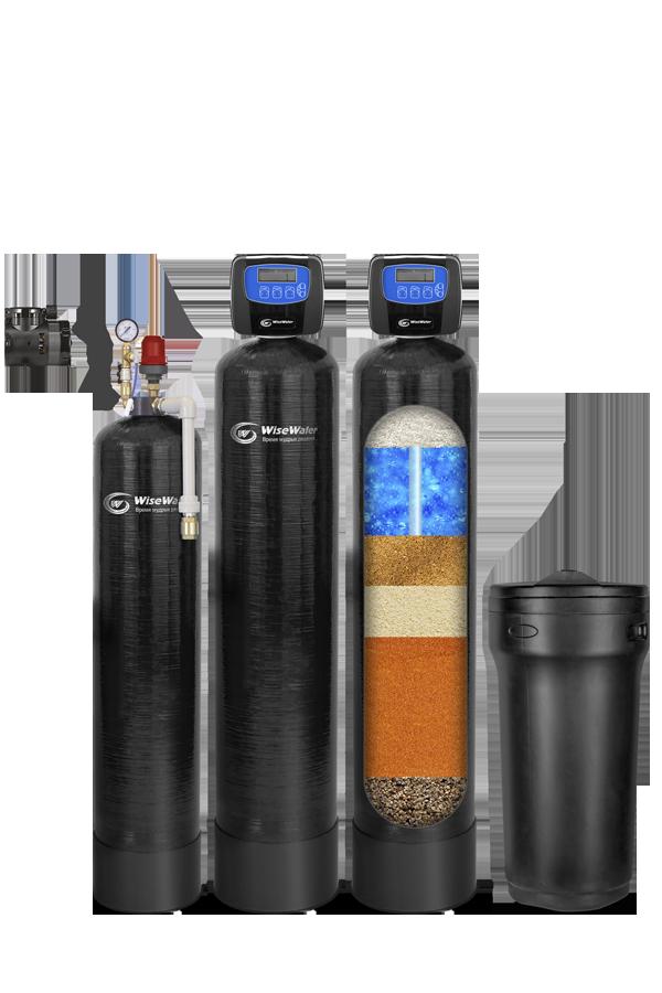 Комплексная система очистки воды  WiseWater VKX2500 Clack EW (2.5-3 куб\час)