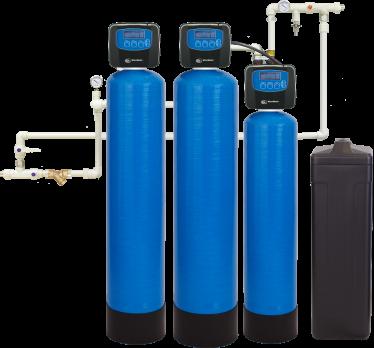 Комплексная система очистки воды WiseWater VKO2500 Clack EW (2,5-3 куб\час)